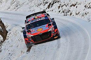 WRC, Monte-Carlo, PS13: Neuville vola su neve e ghiaccio