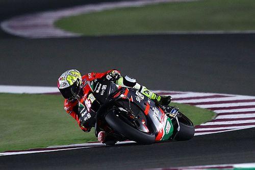 Aleix Espargaro tops first MotoGP test in Qatar for Aprilia