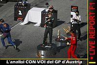 """LIVE F1: L'analisi """"con voi"""" del GP d'Austria"""