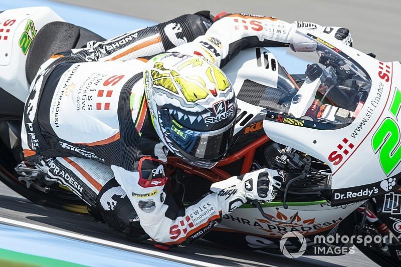 Moto2: Lecuona topt vrijdagtrainingen, Bendsneyder in top-20
