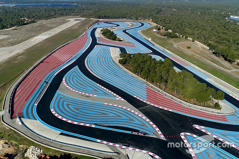 vid o le circuit paul ricard est pr t pour le gp de france 2018. Black Bedroom Furniture Sets. Home Design Ideas