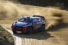 WRC Sordo se pone primero tras el desastre de Toyota en Portugal