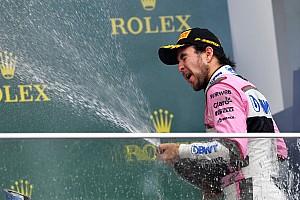 Fórmula 1 Declaraciones Pérez, tercero en Bakú:
