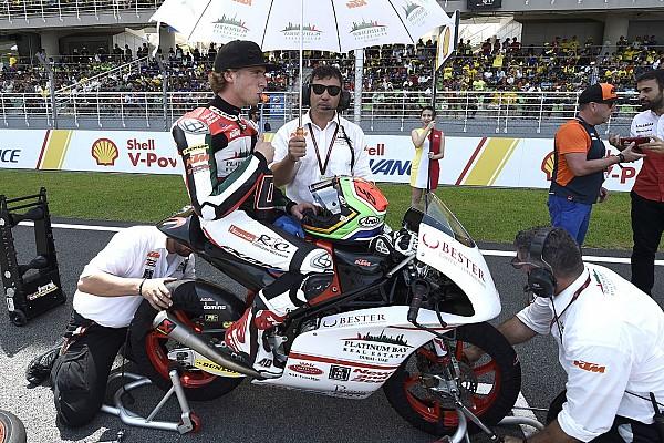 Darryn Binder ficha por el equipo Ajo de Moto3