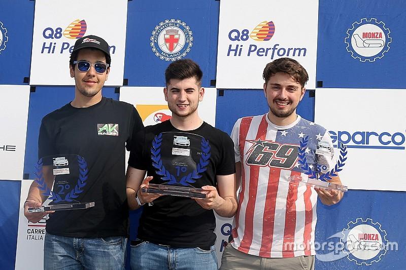 Carrera Cup Italia, Monza: Bonito imprendibile nel monomarca