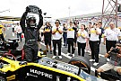 Renault marks Saudi female law change with F1 run