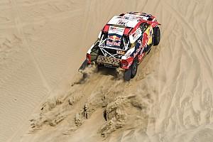 Dakar Relato de estágio Al-Attiyah vence, mas Peterhansel é novo líder do Dakar