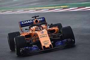 F1 测试报告 2018首轮测试第四日半程:范多恩占据榜首