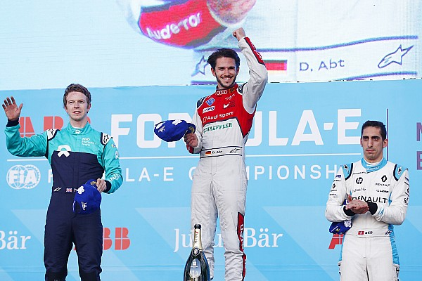 Fórmula E Abt logra su primer triunfo en el ePrix de México