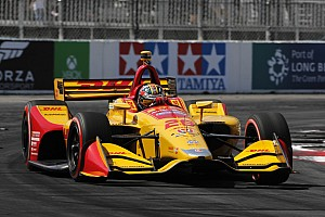 "IndyCar Breaking news Hunter-Reay admits his Long Beach race was ""a complete nightmare"""
