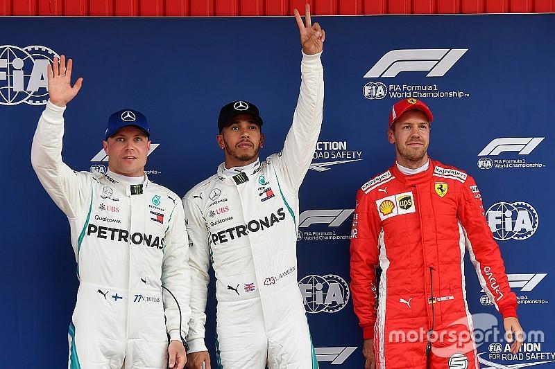 Starting grid GP Spanyol 2018