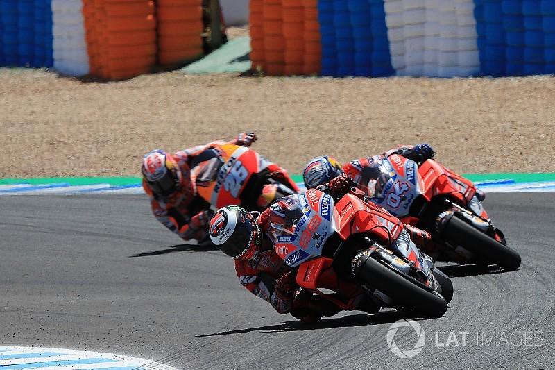 """""""Jerez'de MotoGP'nin en temiz 3 sürücüsü temas yaşadı"""""""