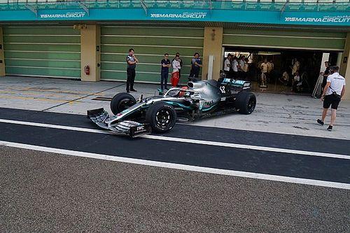 Anche F1 2021 come mule-car nei test Pirelli con gomme da 18