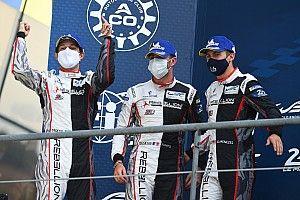 "Senna celebra segundo lugar nas 24 Horas: ""Le Mans finalmente me deixou subir ao pódio"""