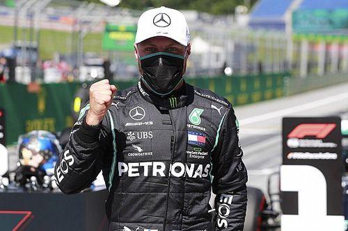 Bottas pakt eerste pole van 2020, derde startplek voor Verstappen