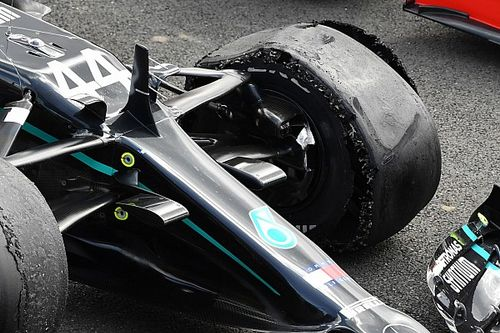 Pirelli says long stints caused British GP tyre failures