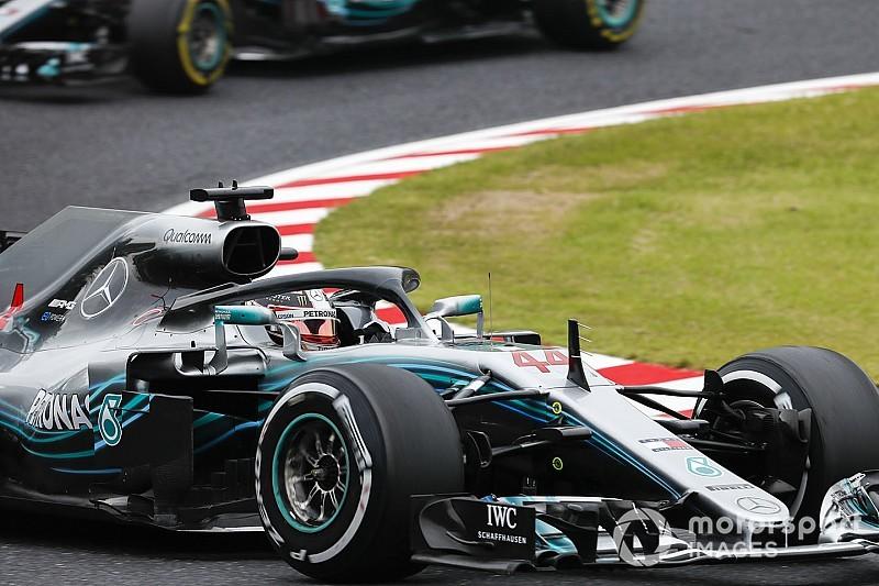 Hamilton quer pneus