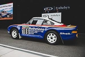 Une Porsche 959 de rallye-raid vendue plus de 5 millions