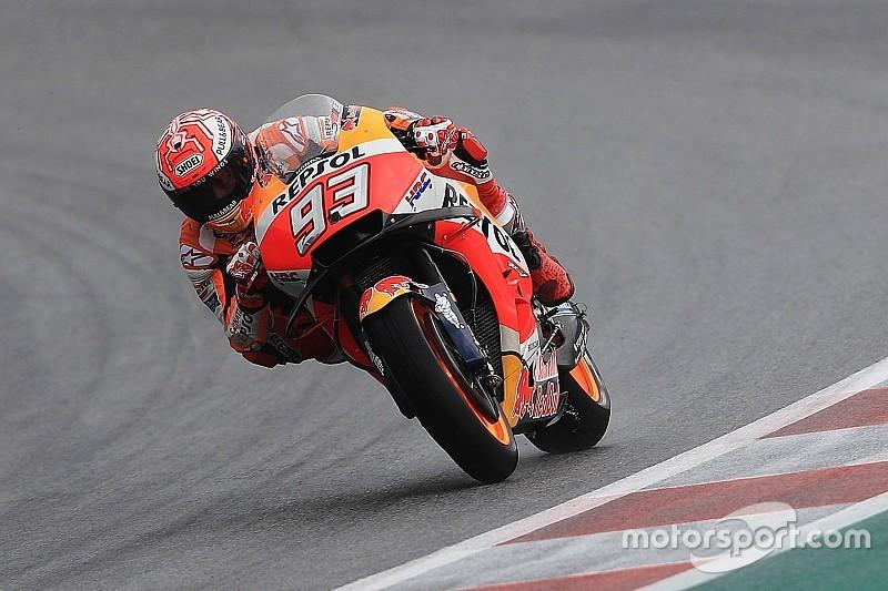 Austria MotoGP: Marquez leads Redding in rain-soaked FP2