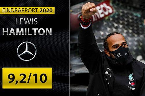 Eindrapport Lewis Hamilton: Grootmeester regeert met ijzeren hand