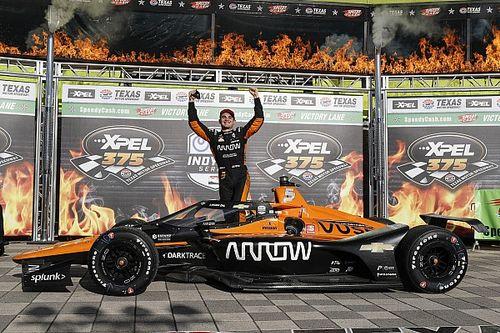 Eerste IndyCar-zege O'Ward, Van Kalmthout in top tien