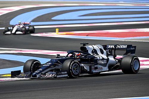 F1フランスFP1速報:メルセデスがワンツー、アルファタウリ・ホンダの角田裕毅は10番手