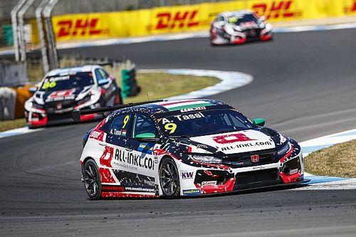 Estoril WTCR: Honda's Tassi wins as loose bonnet costs Monteiro
