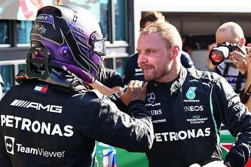 Hamilton pays tribute to 'best teammate' Bottas ahead of Mercedes exit