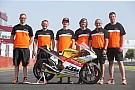 Moto3 Team Freudenberg und Karel Hanika mit Valencia-Wildcard