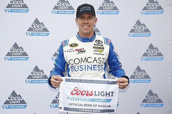 NASCAR in Loudon: Toyota-Fahrer Carl Edwards erzielt Pole-Position