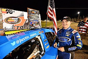 NASCAR Race report Justin Haley claims 2016 NASCAR K&N East title