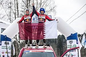 Cross-Country Noticias Al Attiyah reina en la nevada Baja Rusia