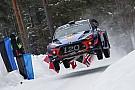 WRC Neuville lidera un triplete de Hyundai tras el segundo día de Suecia