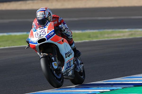 MotoGP Relato de testes Com recorde, Dovizioso é o mais rápido do dia em Jerez
