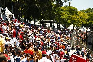 La F1 tuvo más asistentes en los Grandes Premios