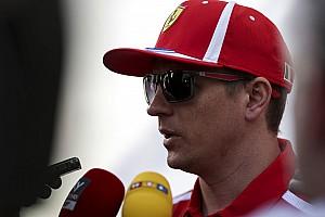 Fórmula 1 Entrevista Ferrari acertou ao trocar o câmbio, diz Raikkonen