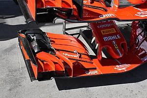 Teljesen új első szárnyat vitt a Ferrari Melbourne-be