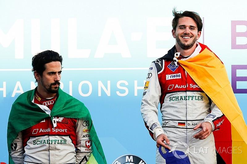 Audi mantém Di Grassi e Abt para próxima temporada da F-E