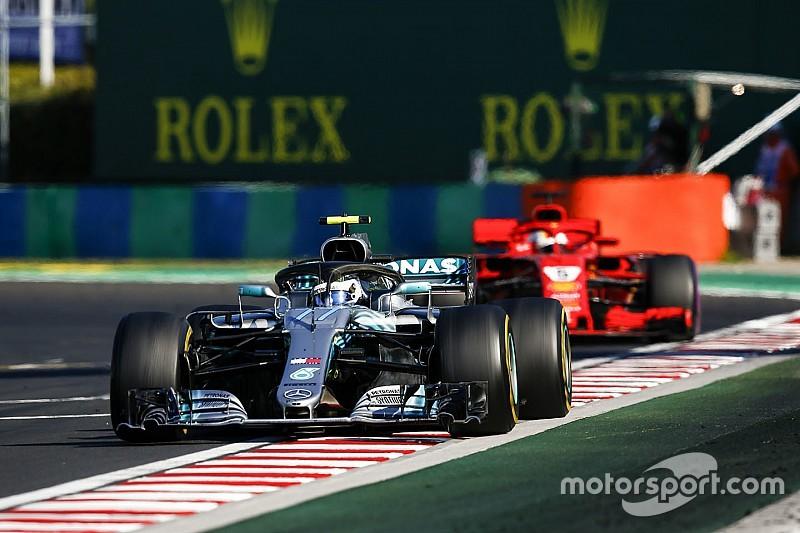 Vettel não culpa Bottas por toque no GP da Hungria