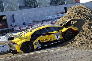 General Важливі новини Відео: на Болонському автосалоні розбили Lamborghini