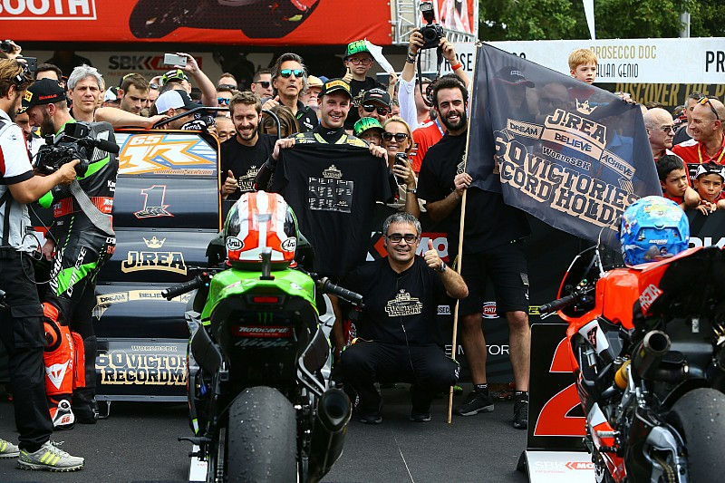 Rea festeggia il record proprio a Brno:
