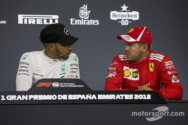 Hamilton y Vettel critican que los F1 vayan a ser más lentos en 2019:
