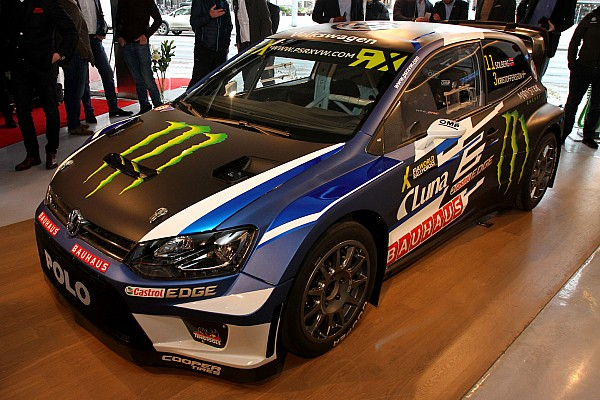 Solberg onthult nieuwe wagen WorldRX