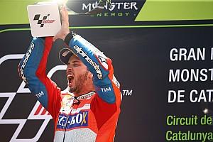 MotoGP Репортаж з гонки Гран Прі Каталонії: Довіціозо виграв другу гонку поспіль