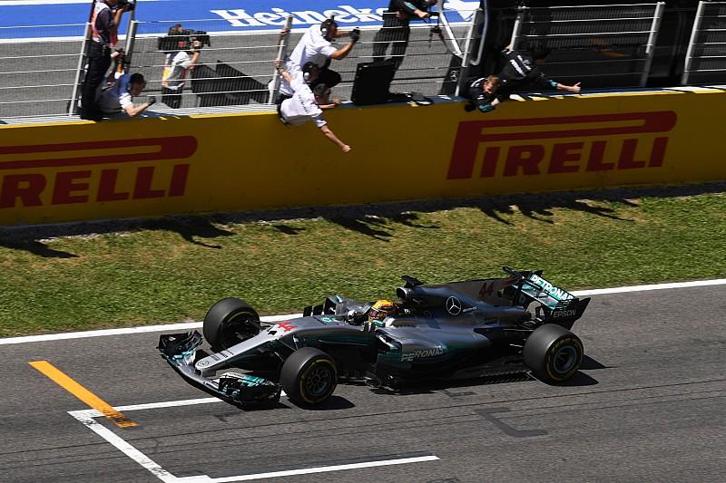 【F1】「魔法のピットストップがハミルトンを勝たせた」と語るウルフ