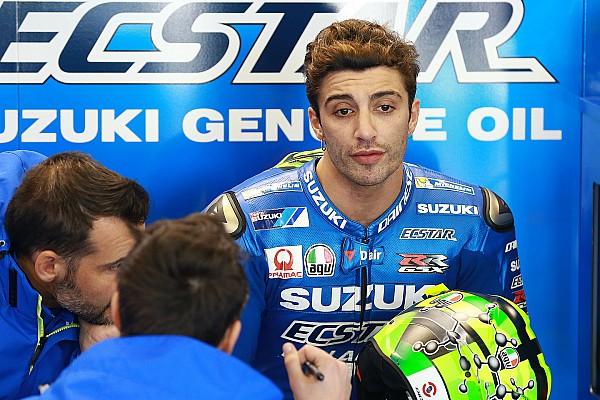 MotoGP Actualités Iannone en proie à du patinage à l'accélération