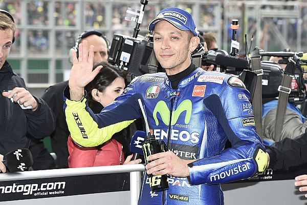 MotoGP Breaking news Rossi hospitalised after motocross incident