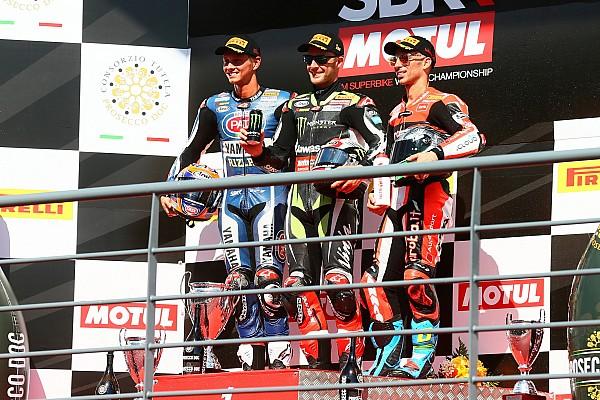 World Superbike Cuarto doblete de la temporada para Rea y primer podio de Van der Mark con Yamaha