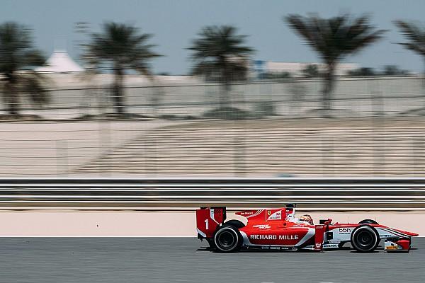 FIA F2 Reporte de pruebas Leclerc lidera el primer día de test de la F2 en Bahréin