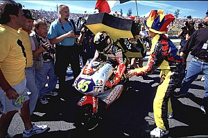 Il y a 20 ans, Valentino Rossi devenait Champion du monde